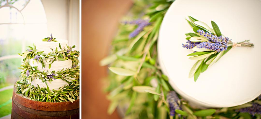 Chichester Wedding Photographer Lavender Wedding Cake
