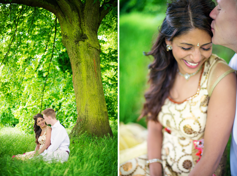 Hyde Park Wedding Photographer Indian Wedding Photography Engagement Session