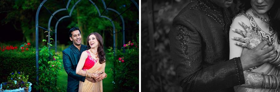 Sangeet Hindu Wedding Photographer Ladywood Estate