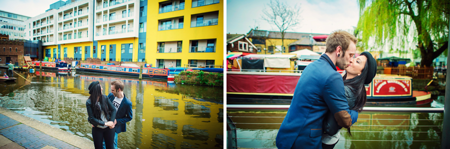 Camden Town Wedding Photographer Locks Engagement Session Photography