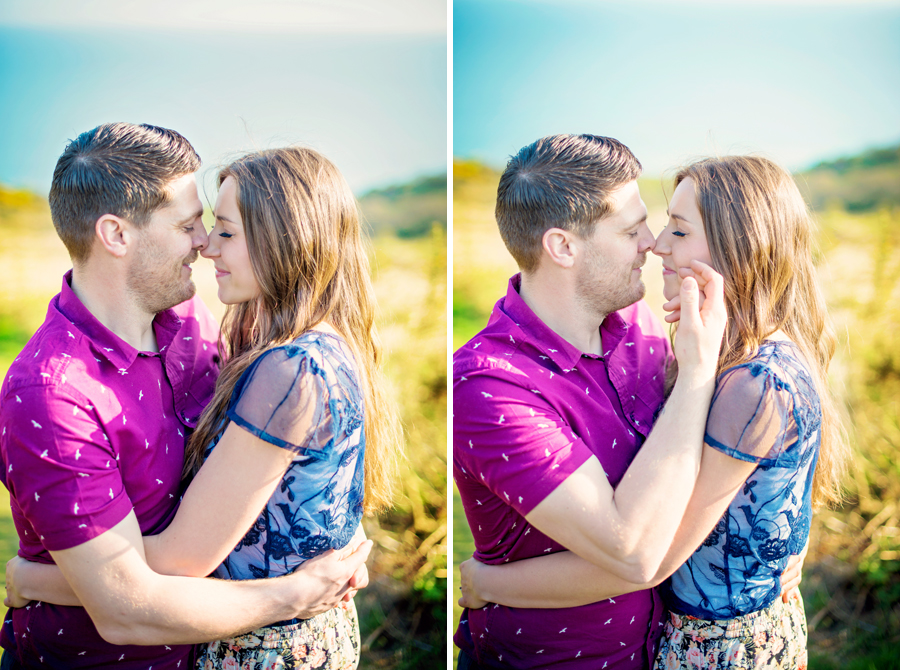 East Sussex Wedding Photographer Hastings Country Park Engagement Session