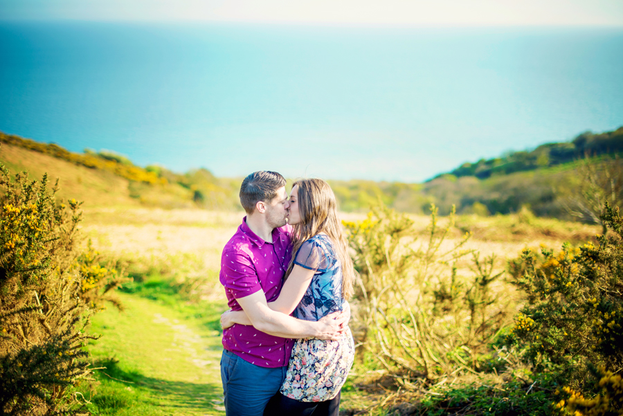 Hastings-Country-Park-Hastings-Wedding-Photographer-Carl-and-Aimee-Engagement-Session-Photography-By-Vicki016