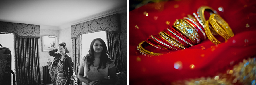Ladywood Estate Indian Bridal Wedding Photographer