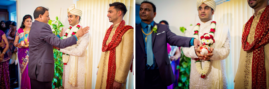 Ladywood Estate Indian Groom Wedding Photographer