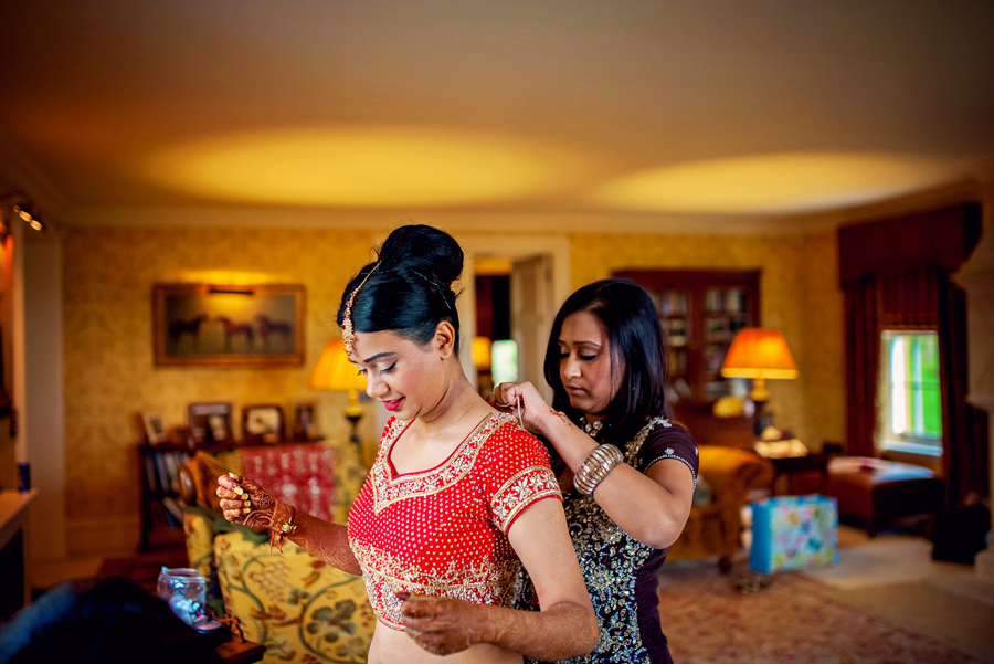 Ladywood Estate Bridal Indian Wedding Photography