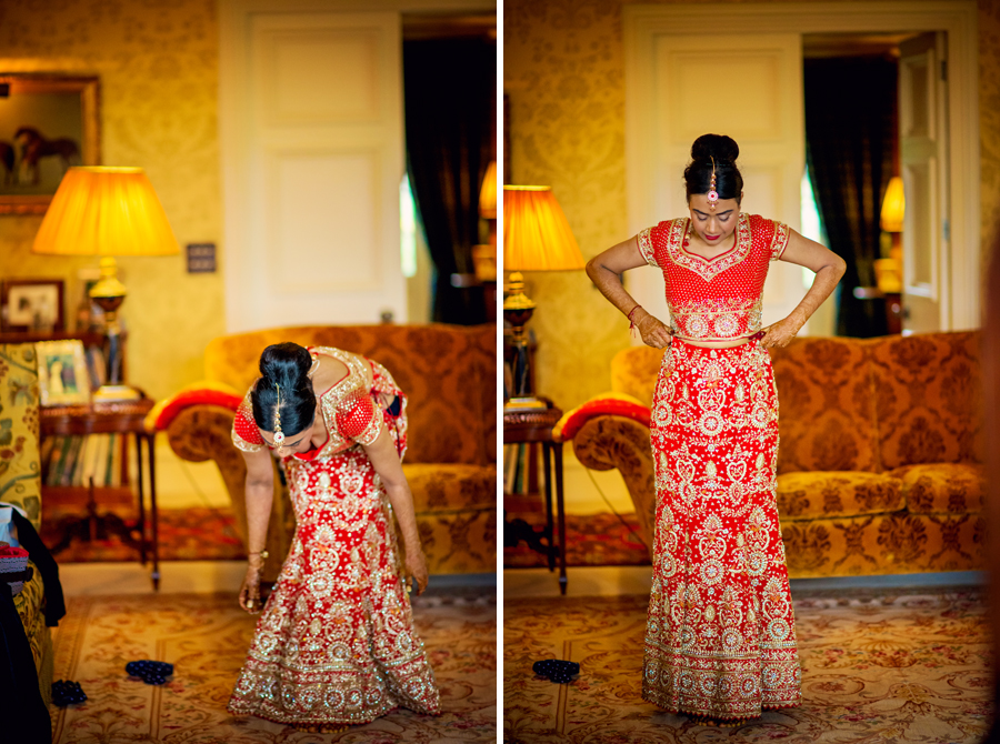 Ladywood Estate Bridal Indian Wedding Photographer
