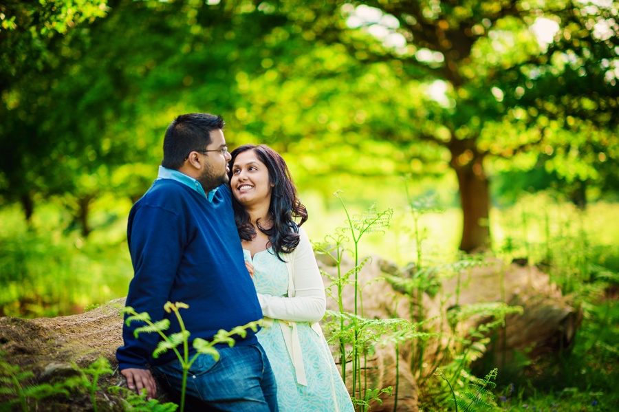 Richmond-Park-London-Wedding-Photographer-Benjamin-and-Sarah-Sunset-Engagement-Session-Photography-By-Vicki003