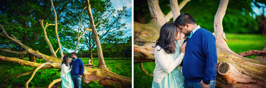 Richmond-Park-London-Wedding-Photographer-Benjamin-and-Sarah-Sunset-Engagement-Session-Photography-By-Vicki009