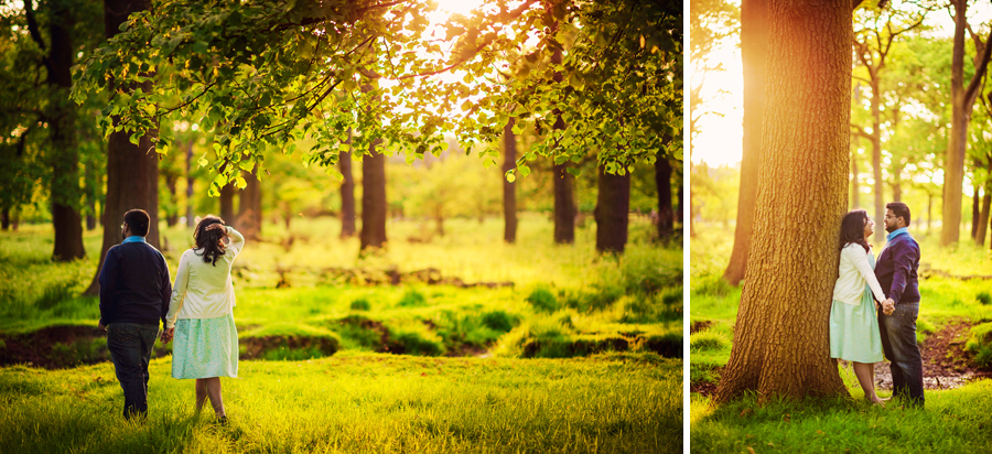 Richmond-Park-London-Wedding-Photographer-Benjamin-and-Sarah-Sunset-Engagement-Session-Photography-By-Vicki010