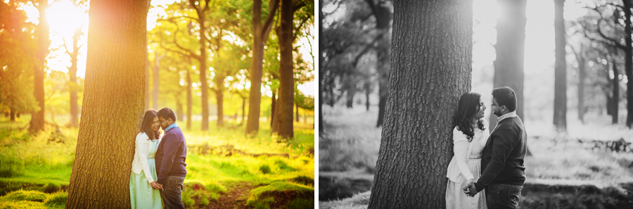 Richmond-Park-London-Wedding-Photographer-Benjamin-and-Sarah-Sunset-Engagement-Session-Photography-By-Vicki012