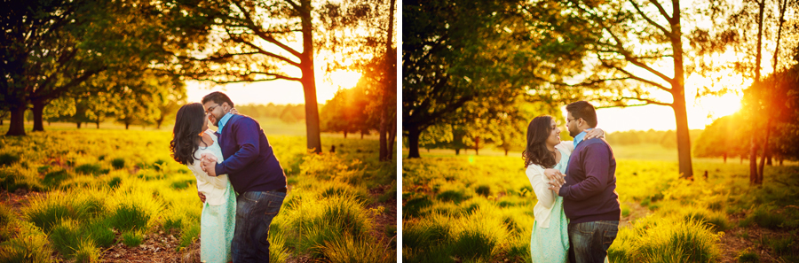 Richmond-Park-London-Wedding-Photographer-Benjamin-and-Sarah-Sunset-Engagement-Session-Photography-By-Vicki020