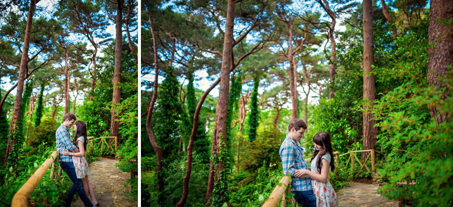 Compton-Acres-Dorset-Wedding-Photography-Alex-and-Kayla-Japanese-Italian-Engagement-Session-Photography-By-Vicki018