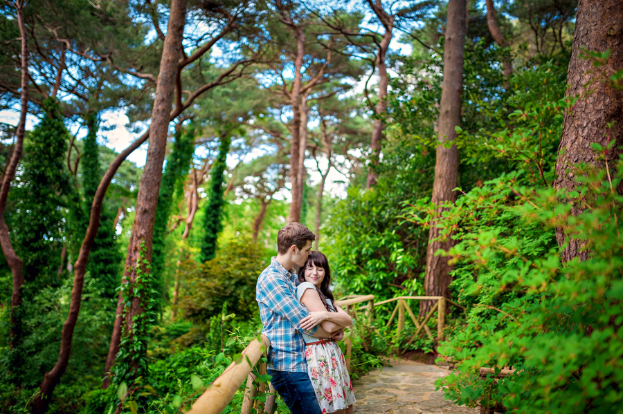 Compton-Acres-Dorset-Wedding-Photography-Alex-and-Kayla-Japanese-Italian-Engagement-Session-Photography-By-Vicki019