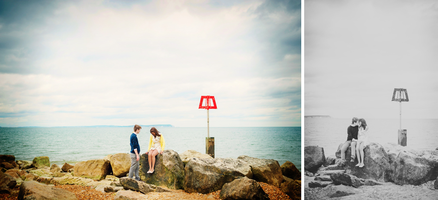 Hengistbury-Head-Bournemouth-Wedding-Photography-James-and-Kayliegh-Engagement-Session-Photography-By-Vicki011