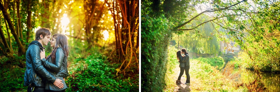 Alternative Creative Wedding Photographer Engagement Photography